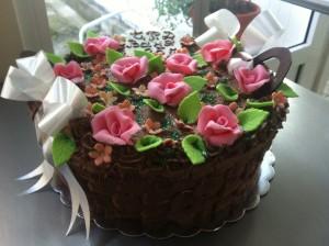 """Торта """"Кошница"""""""